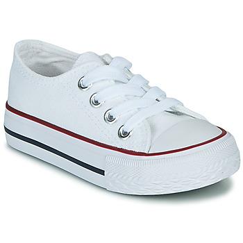 Schuhe Kinder Sneaker Low Citrouille et Compagnie OTAL Weiss