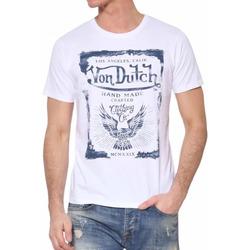Kleidung Herren T-Shirts Von Dutch VD/TRC/CRAF Weiss