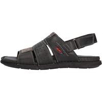 Schuhe Herren Sandalen / Sandaletten Valleverde - Sandalo nero 20831 NERO