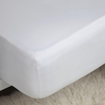 Home Spannbettlaken Belledorm Single Weiß