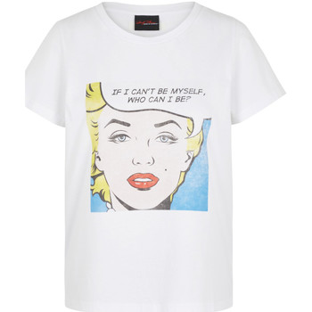 Kleidung Damen T-Shirts Noisy May 27013599 Bianco