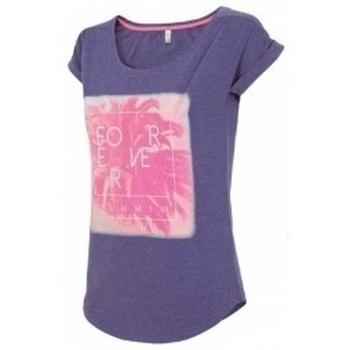 Kleidung Damen T-Shirts 4F Womens Violett