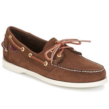 Schuhe Herren Bootsschuhe Sebago DOCKSIDES Braun