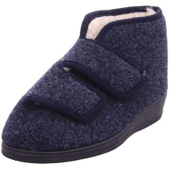 Schuhe Damen Hausschuhe Bold - 7553 blau