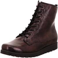 Schuhe Damen Stiefel Waldläufer Stiefeletten Hegli 549818 181 057 rot