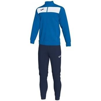 Kleidung Herren Sweatshirts Joma Akademie Ii Trainingsanzug -royal-weiß Blau