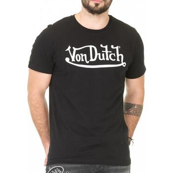 Kleidung Herren T-Shirts Von Dutch VD/TVC/RON Schwarz