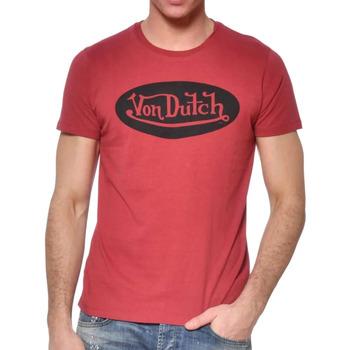 Kleidung Herren T-Shirts Von Dutch VD/TSC/FRONT Rot
