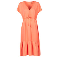 Kleidung Damen Kurze Kleider Les Petites Bombes BRESIL Orange