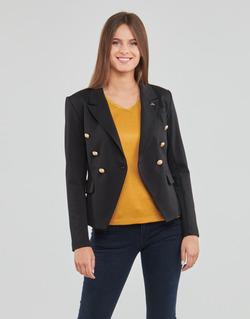 Kleidung Damen Jacken / Blazers Les Petites Bombes AGATHE Schwarz
