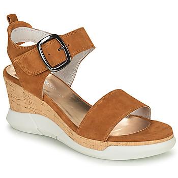Schuhe Damen Sandalen / Sandaletten Philippe Morvan AMOR V1 Braun