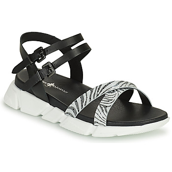 Schuhe Damen Sandalen / Sandaletten Philippe Morvan KERALA V1 Schwarz