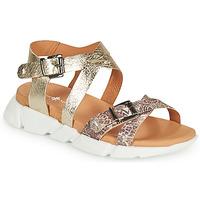 Schuhe Damen Sandalen / Sandaletten Philippe Morvan KAKI V1 Braun