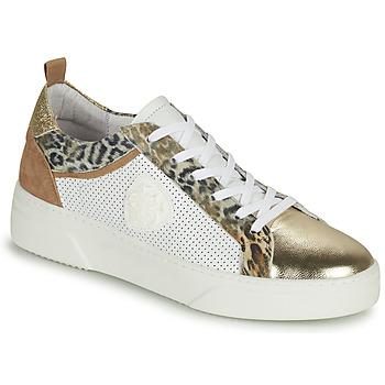 Schuhe Damen Sneaker Low Philippe Morvan SOAPY V3 Weiss / Braun
