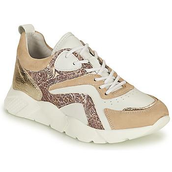 Schuhe Damen Sneaker Low Philippe Morvan VOOX V1 Weiss / Beige
