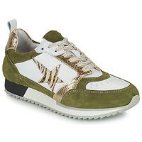 Schuhe Damen Sneaker Low Philippe Morvan ROOXY V2 Weiss / Kaki