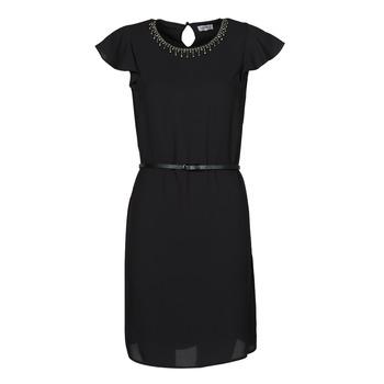 Kleidung Damen Kurze Kleider Liu Jo WA1561-T9767-22222 Schwarz