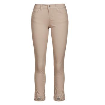 Kleidung Damen 5-Pocket-Hosen Liu Jo IDEAL Beige