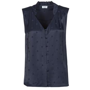 Kleidung Damen Tops / Blusen Liu Jo WA1044-T4758-93923 Marine