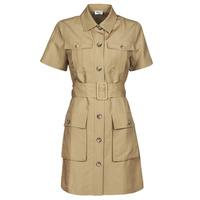 Kleidung Damen Kurze Kleider Liu Jo WA1301-T4818-X0365 Beige