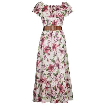 Kleidung Damen Maxikleider Liu Jo WA1496-T5976-T9706 Multicolor