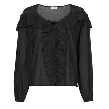 Kleidung Damen Tops / Blusen Liu Jo WA1084-T5976-22222 Schwarz