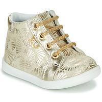 Schuhe Mädchen Sneaker High GBB FAMIA Beige