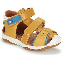 Schuhe Jungen Sandalen / Sandaletten GBB EUZAK Gelb