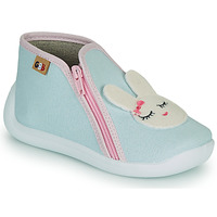 Schuhe Mädchen Hausschuhe GBB APOLA Blau