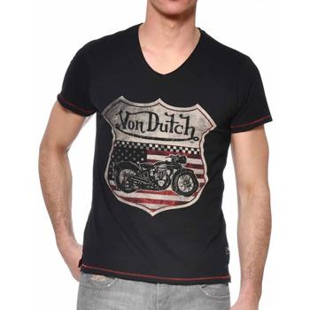Kleidung Herren T-Shirts Von Dutch VD/TVC/OVER Schwarz