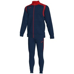 Kleidung Herren Jogginganzüge Joma Meisterschaft V Blau Marine-Rot Trainingsanzug Blau