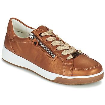 Schuhe Damen Sneaker Low Ara ROM-HIGHSOFT Braun