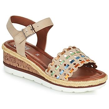 Schuhe Damen Sandalen / Sandaletten Ara CADIZ-S Beige