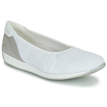 Schuhe Damen Sneaker Low Ara PORTO-FUSION4 Weiss