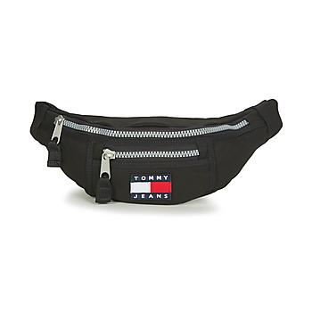 Taschen Hüfttasche Tommy Jeans TJM HERITAGE BUMBAG Schwarz