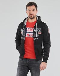 Kleidung Herren Sweatshirts Geographical Norway GAFONT Schwarz
