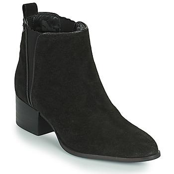 Schuhe Damen Boots Pepe jeans WATERLOO ICON Schwarz