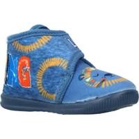 Schuhe Jungen Hausschuhe Vulladi 8107 140 Blau