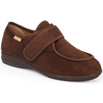 Schuhe Hausschuhe Calzamedi HAUSHALTS- UND / ODER POSTOPERATIVE MITTELSCHUHE 3081 BROWN