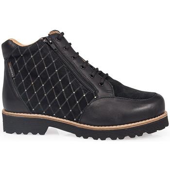 Schuhe Damen Boots Calzamedi HEELED SHOES  0711 BLACK