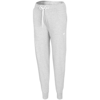 Kleidung Damen Jogginghosen 4F SPDD300 Grau