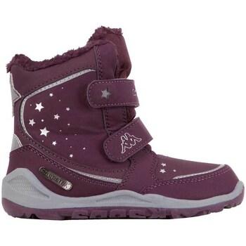Schuhe Herren Schneestiefel Kappa Cui Tex Violett