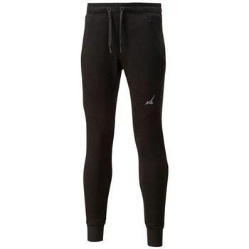 Kleidung Damen Leggings Mizuno Athletic Rib Pant W Schwarz