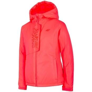 Kleidung Mädchen Jacken 4F JKUDN001 Rot