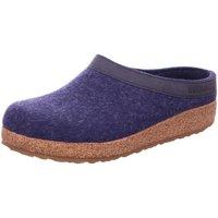 Schuhe Herren Hausschuhe Haflinger Grizzly Torben 713001-072 blau