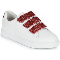 Schuhe Damen Sneaker Low Bons baisers de Paname EDITH BACK LIPS Weiss