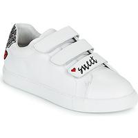 Schuhe Damen Sneaker Low Bons baisers de Paname EDITH SWEET HEART Weiss