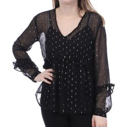 Kleidung Damen Tops / Blusen Jacqueline De Yong 15221110 Schwarz