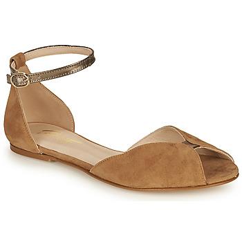 Schuhe Damen Sandalen / Sandaletten Betty London INALI Camel