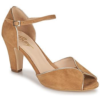 Schuhe Damen Sandalen / Sandaletten Betty London ORAD Camel